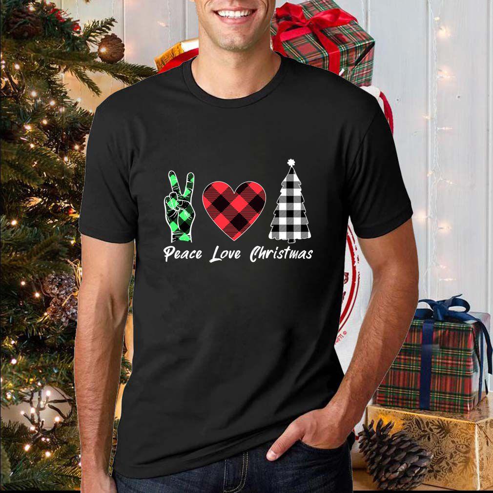 Peace Love Christmas T-Shirts