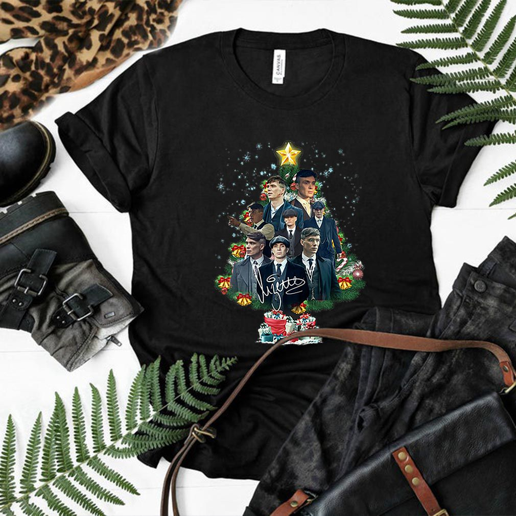 Peaky Blinders signature Christmas tree shirt