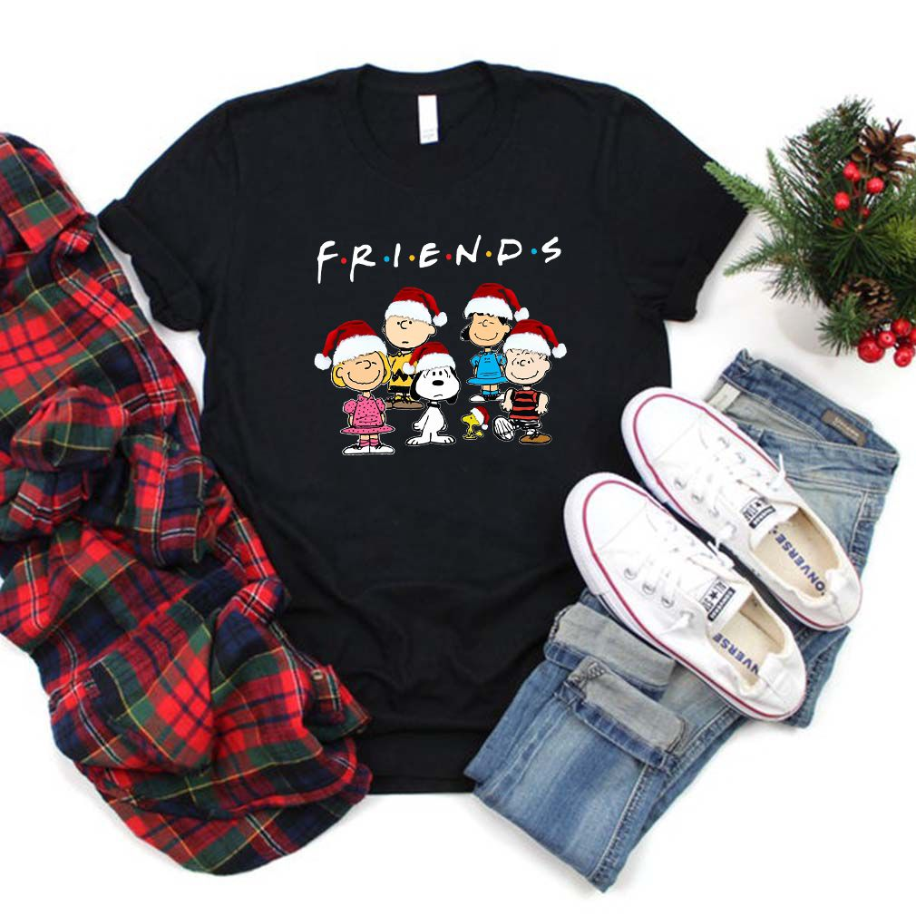 Peanut Snoopy And Friends Merry Christmas Shirt