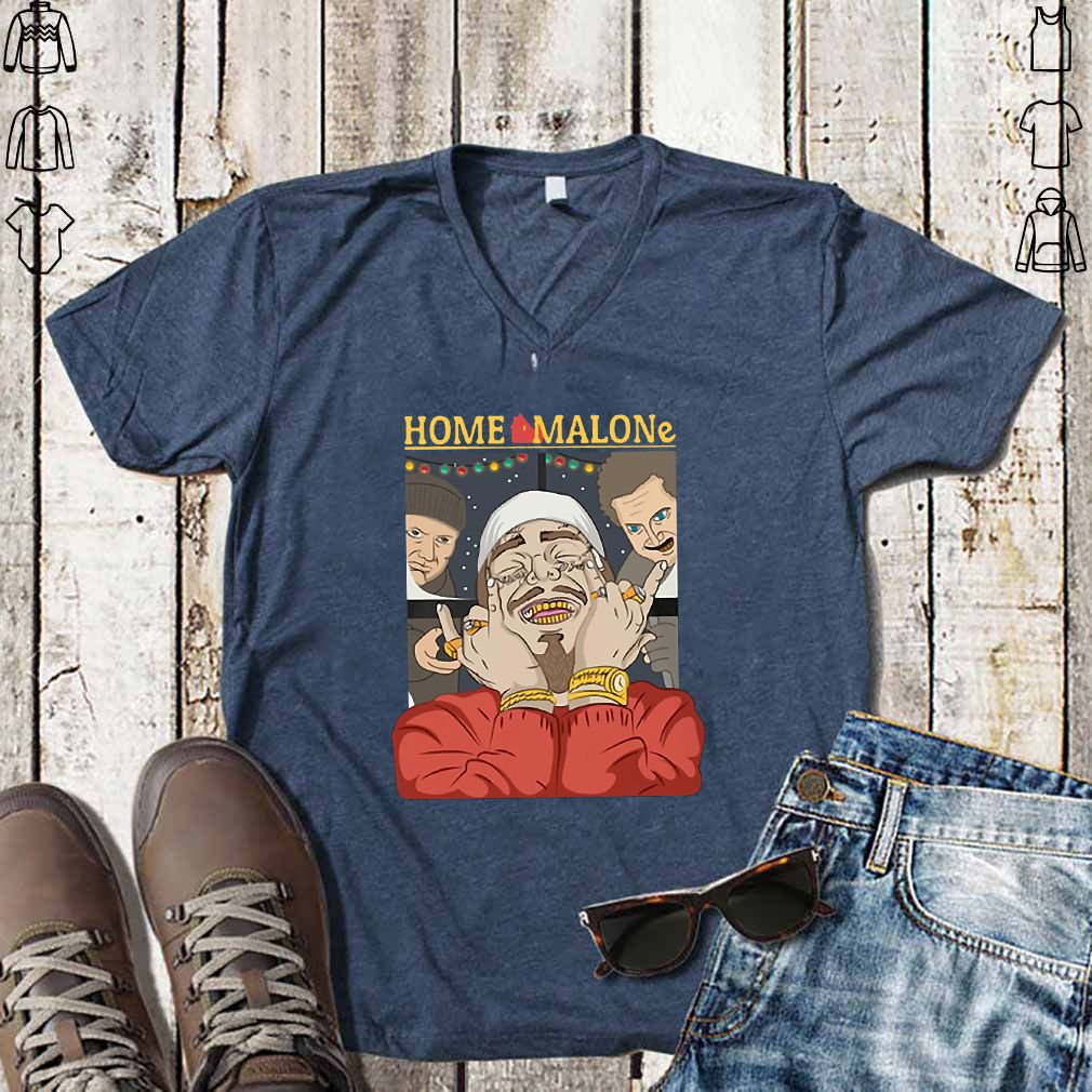 Post Malone Christmas Home Malone Shirt, Hoodie