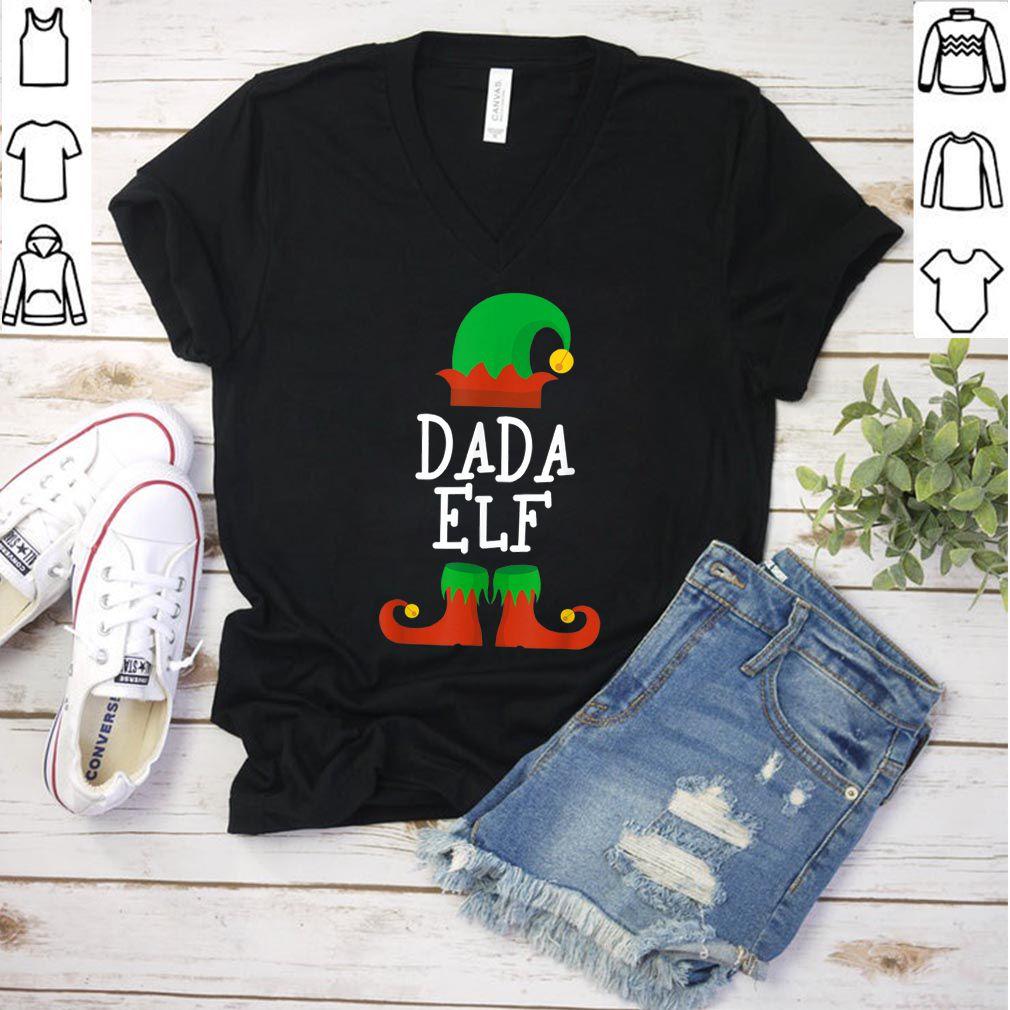 Premium Dada Elf Christmas Funny Xmas Gift shirt - Copy