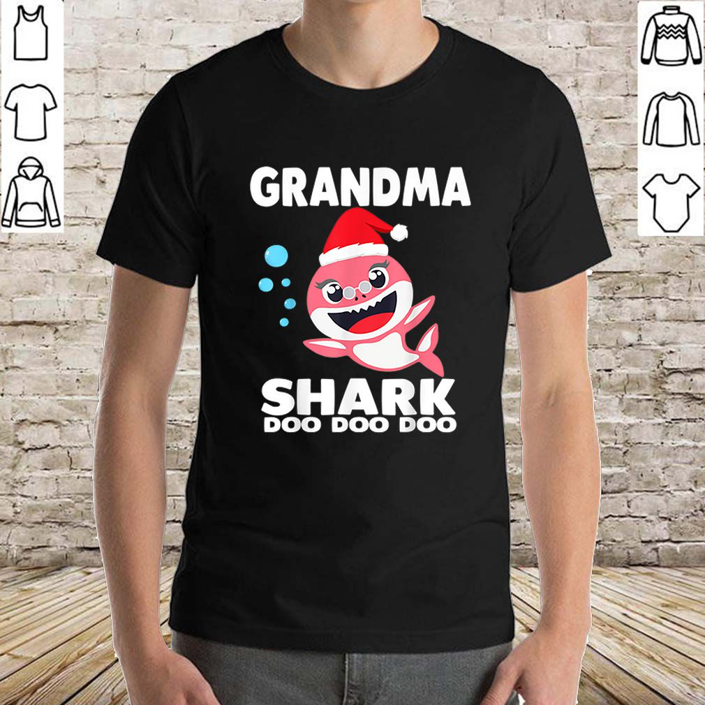 Premium Grandma Shark Christmas for Matching Family Pajamas sweater