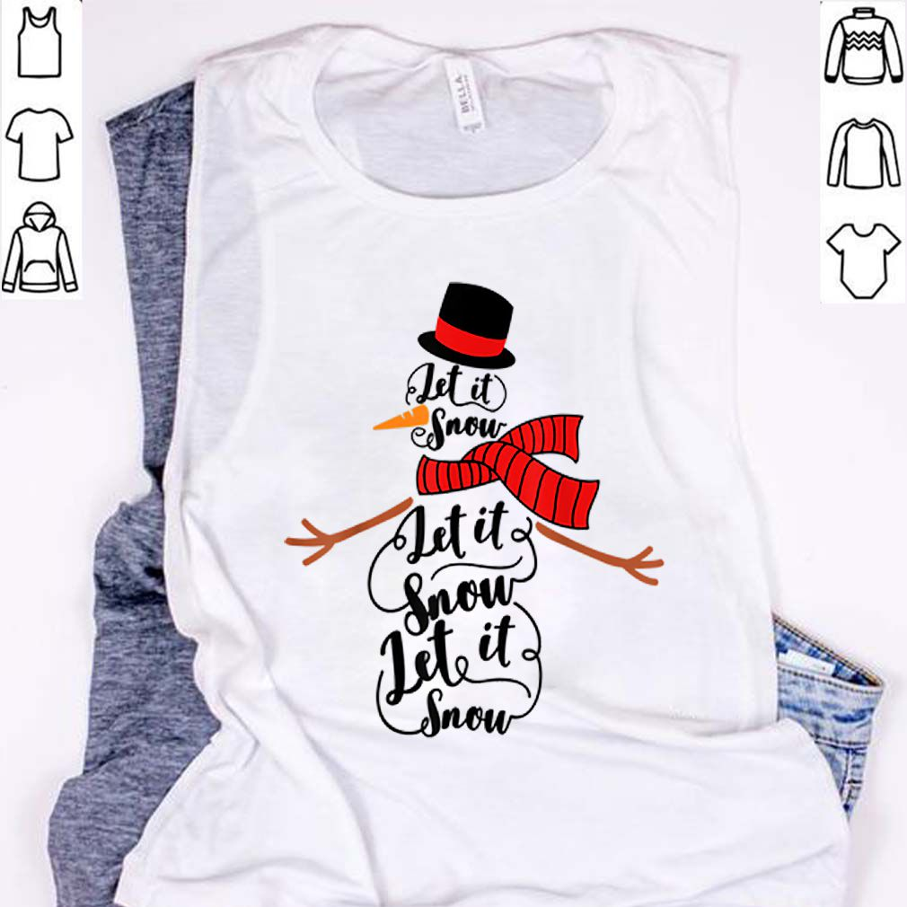 Premium Let it snow merry Christmas family party mom dad party gift sweater