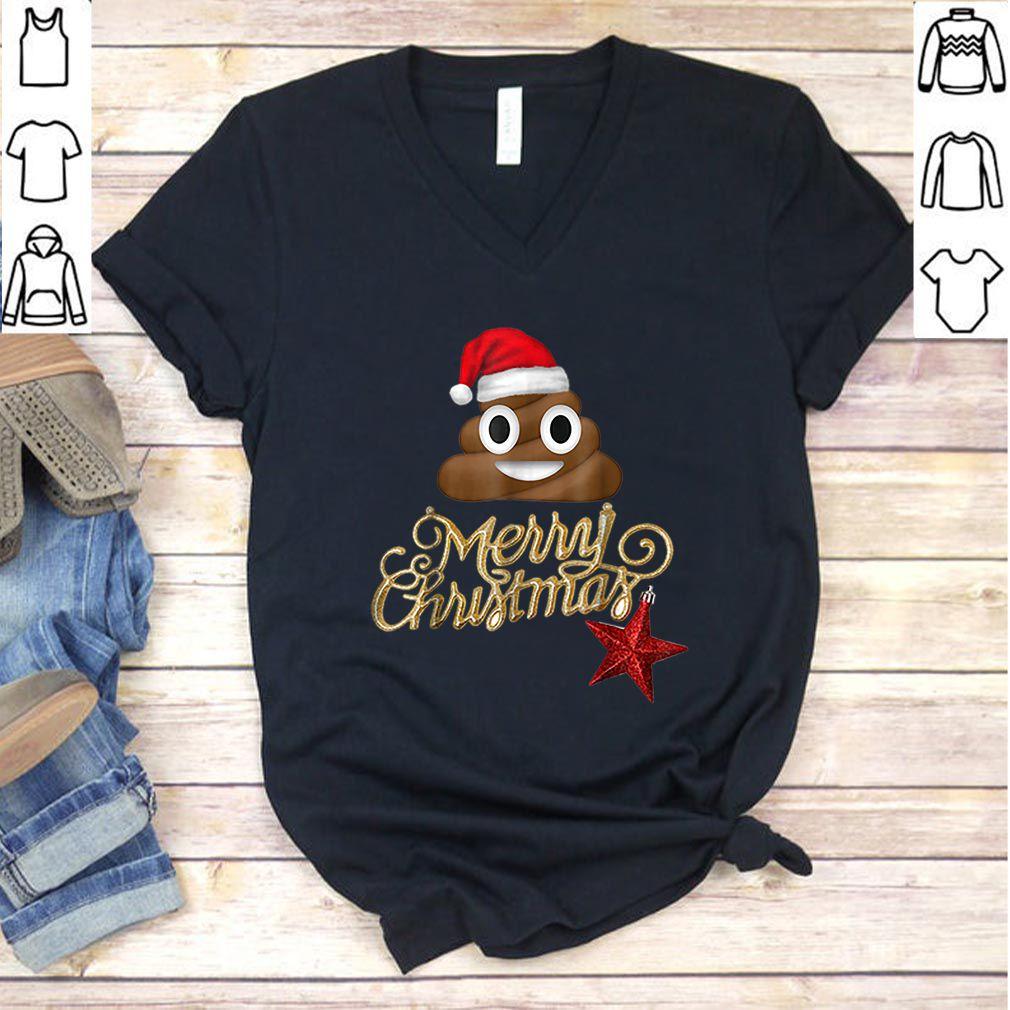 Premium Poop Emoji Christmas – Funny Costume X-Mas Gift Idea sweater