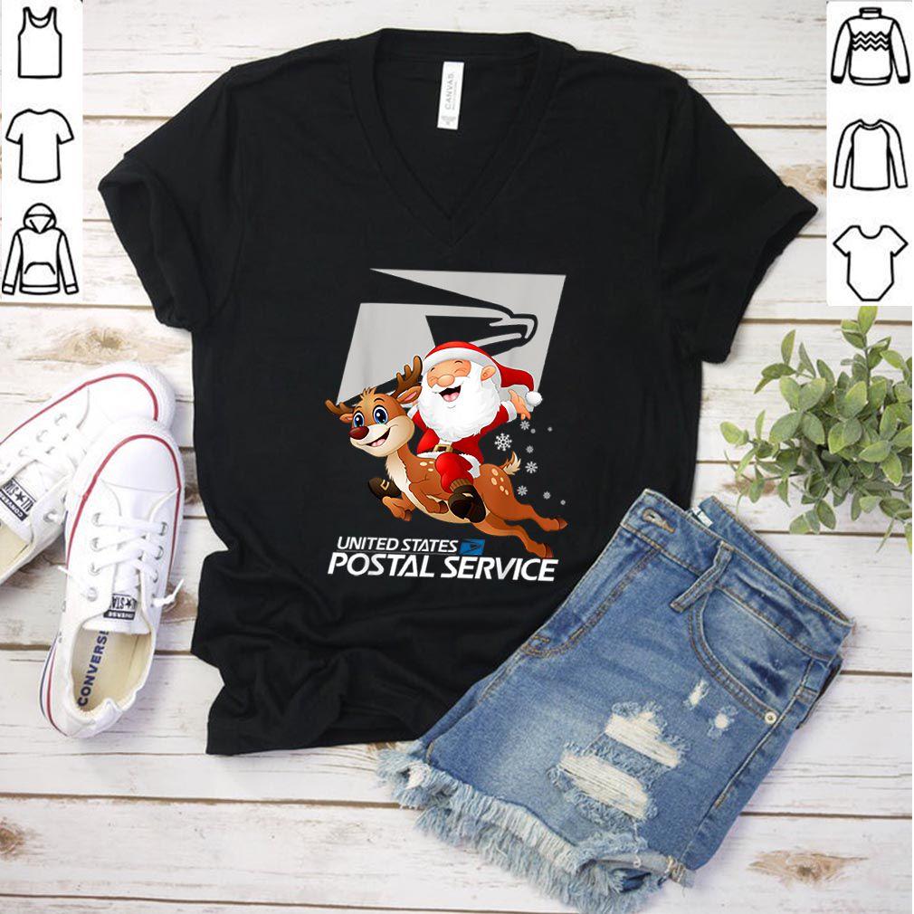 Premium United States Postal Service Santa Christmas shirt