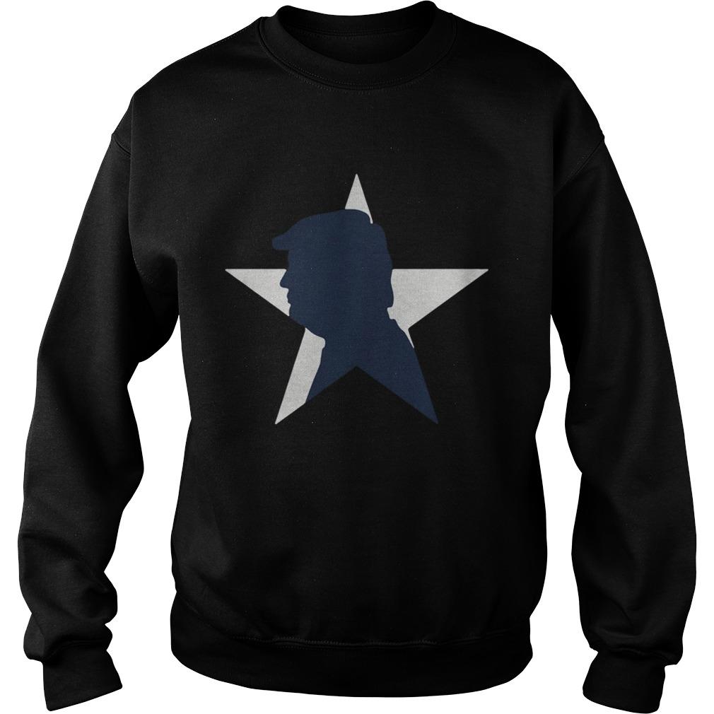 President Donald Trump Dallas Cowboys  Sweatshirt