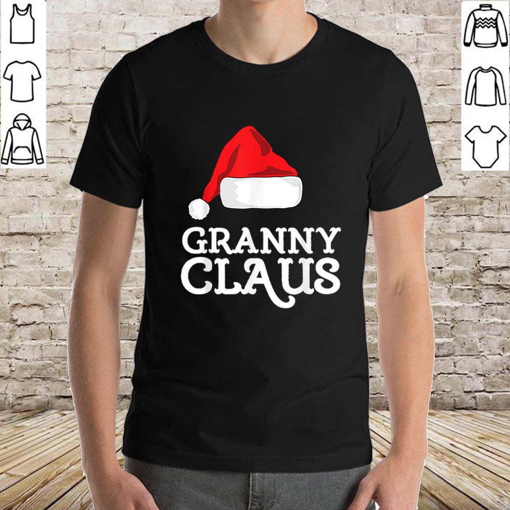 Pretty Granny Claus Christmas Family Matching Pajama Hat sweater