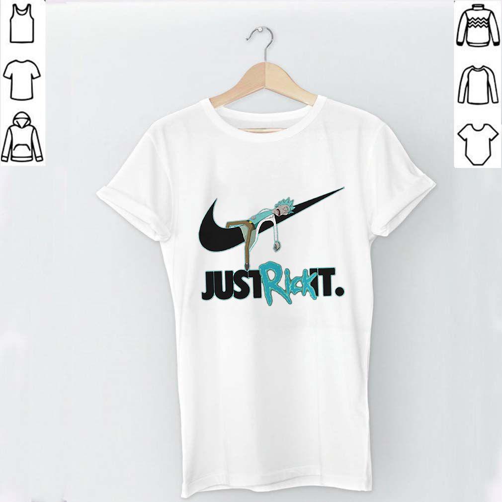 Rick and Morty Nike just Rick it shirt
