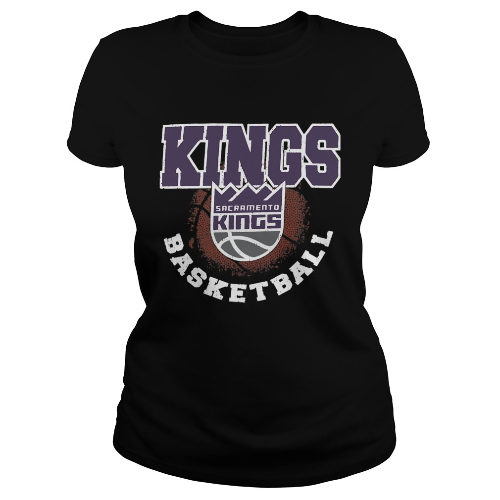 Sacramento Kings Basketball Logo  Classic Ladies