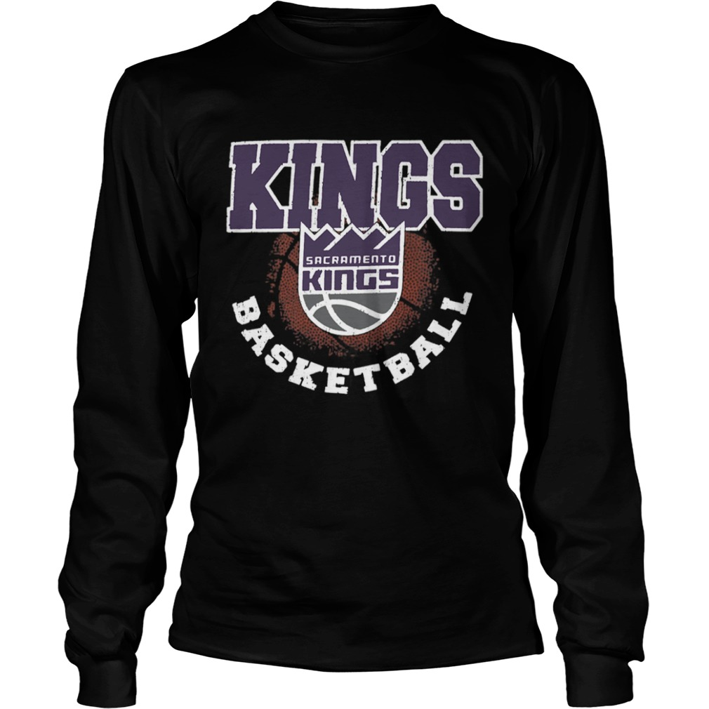 Sacramento Kings Basketball Logo  LongSleeve