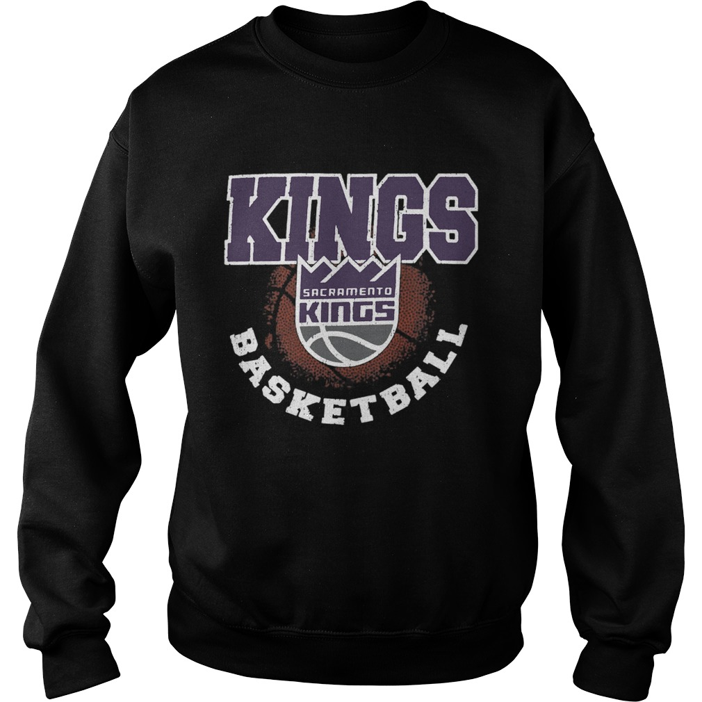 Sacramento Kings Basketball Logo  Sweatshirt