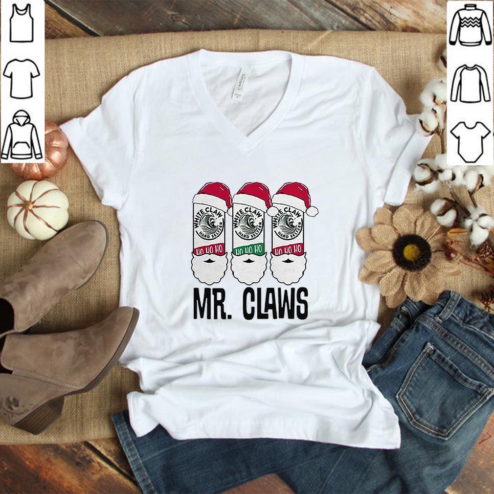 Santa Mr. Claws White Claw ho ho ho shirt