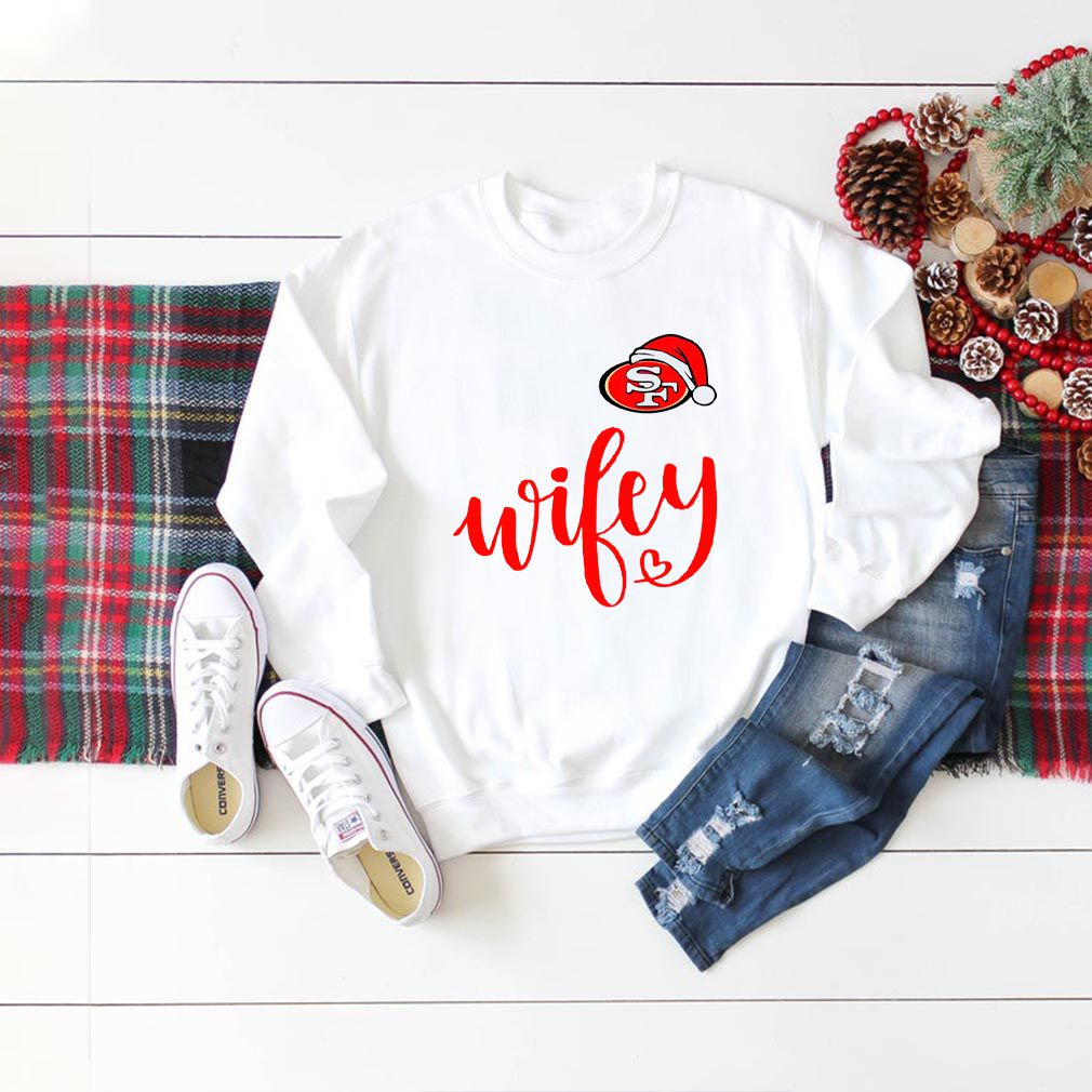 Santa San Francisco 49ers Wifey Shirt