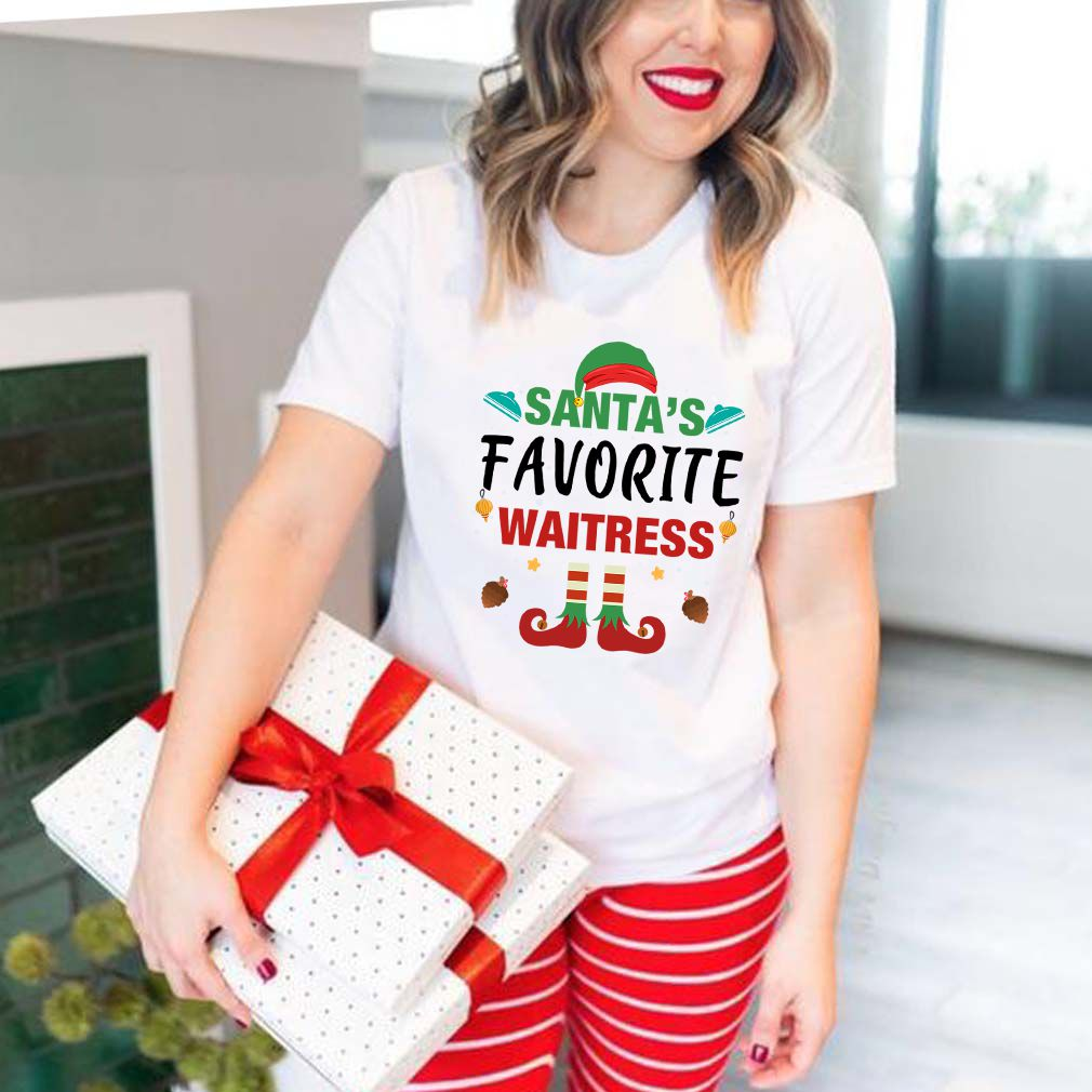 Santa's Favorite Waitress T-Shirt