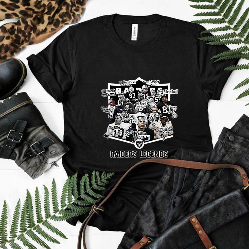 Signature players Oakland Raiders Legends shirt