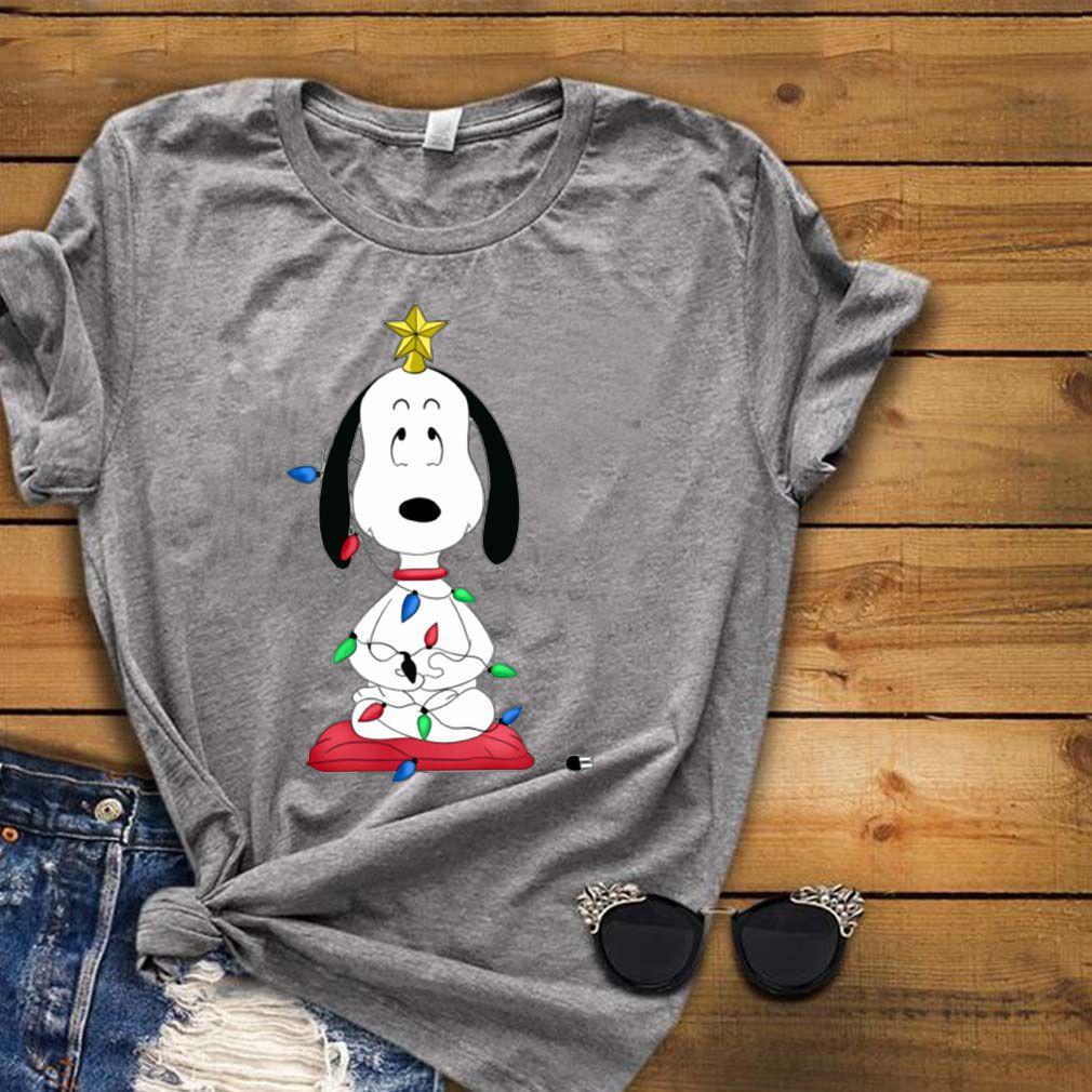 Snoopy Funny Christmas tree Shirt