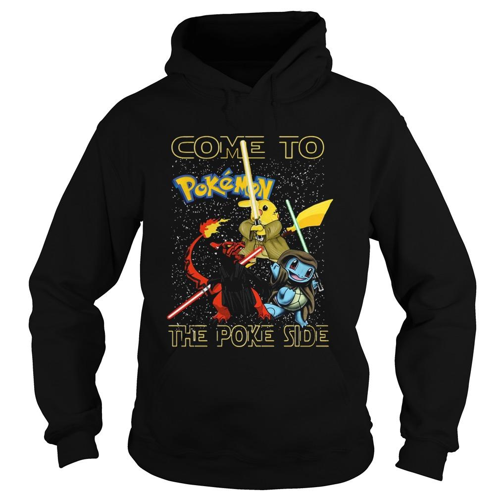 Star Wars Come to Pokemon the Poke side  Hoodie