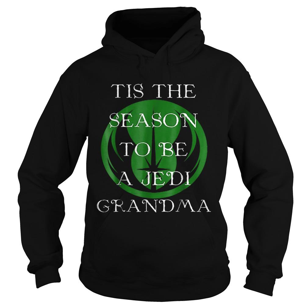 Star Wars Season To Be A Jedi Grandma Christmas  Hoodie