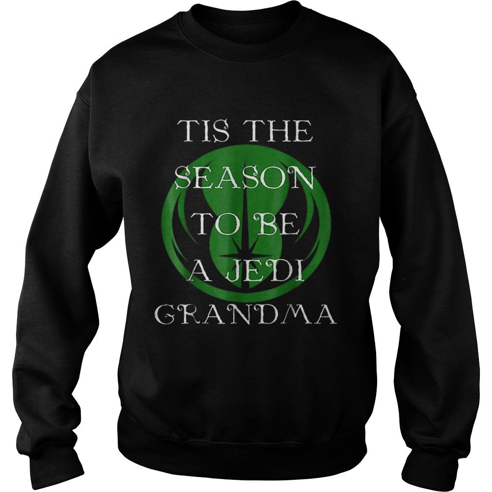 Star Wars Season To Be A Jedi Grandma Christmas  Sweatshirt