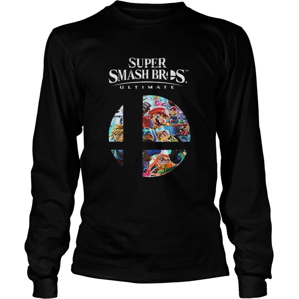 Super Mario Super Smash Bros Ultimate  LongSleeve