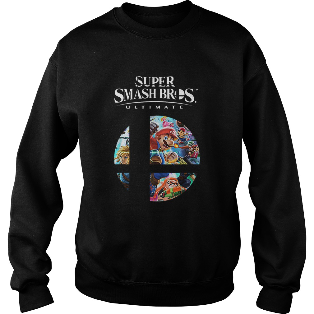 Super Mario Super Smash Bros Ultimate  Sweatshirt