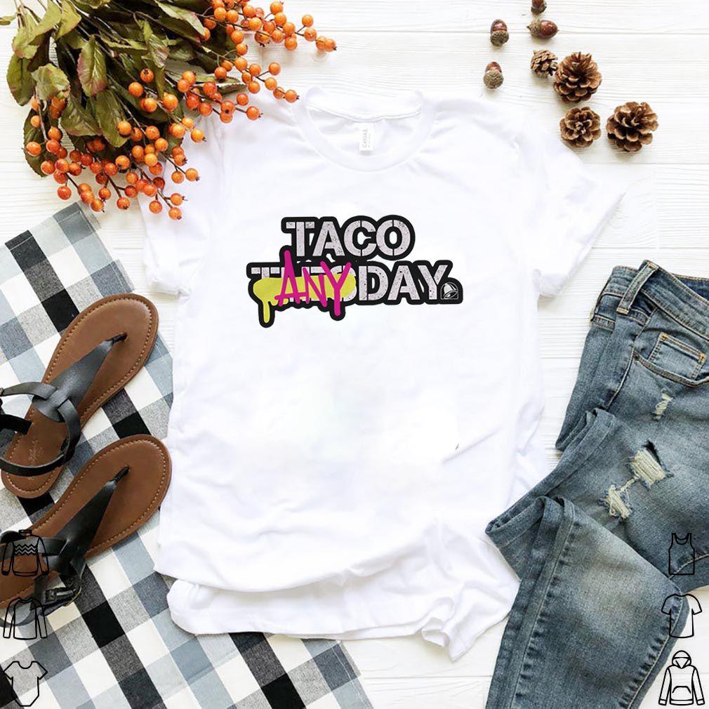 Taco Any Day Shirt