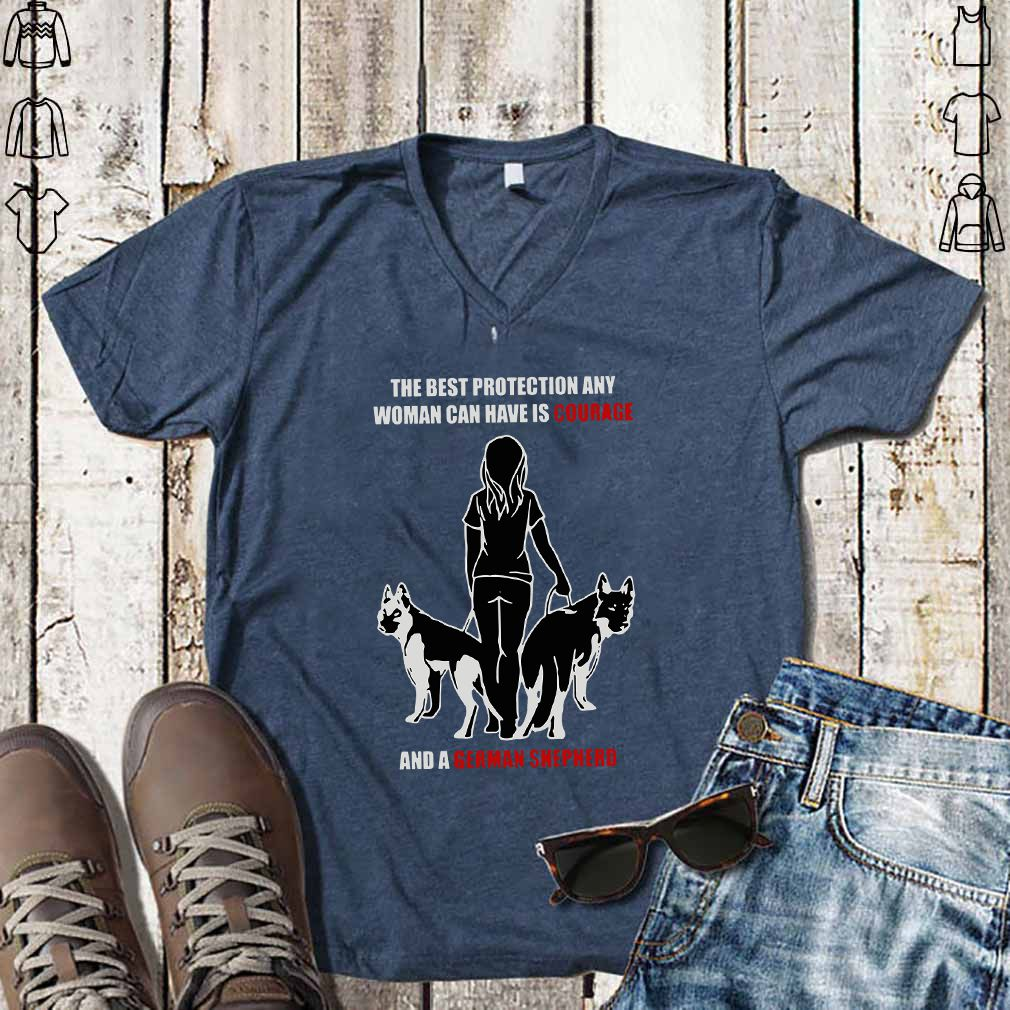 german shepherd owner t shirt add colour and size from menu
