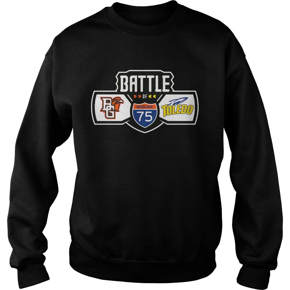 The Bowling Green Toledo football rivalry  Sweatshirt