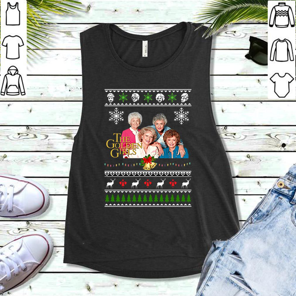 The Golden Girls Ugly Christmas shirt