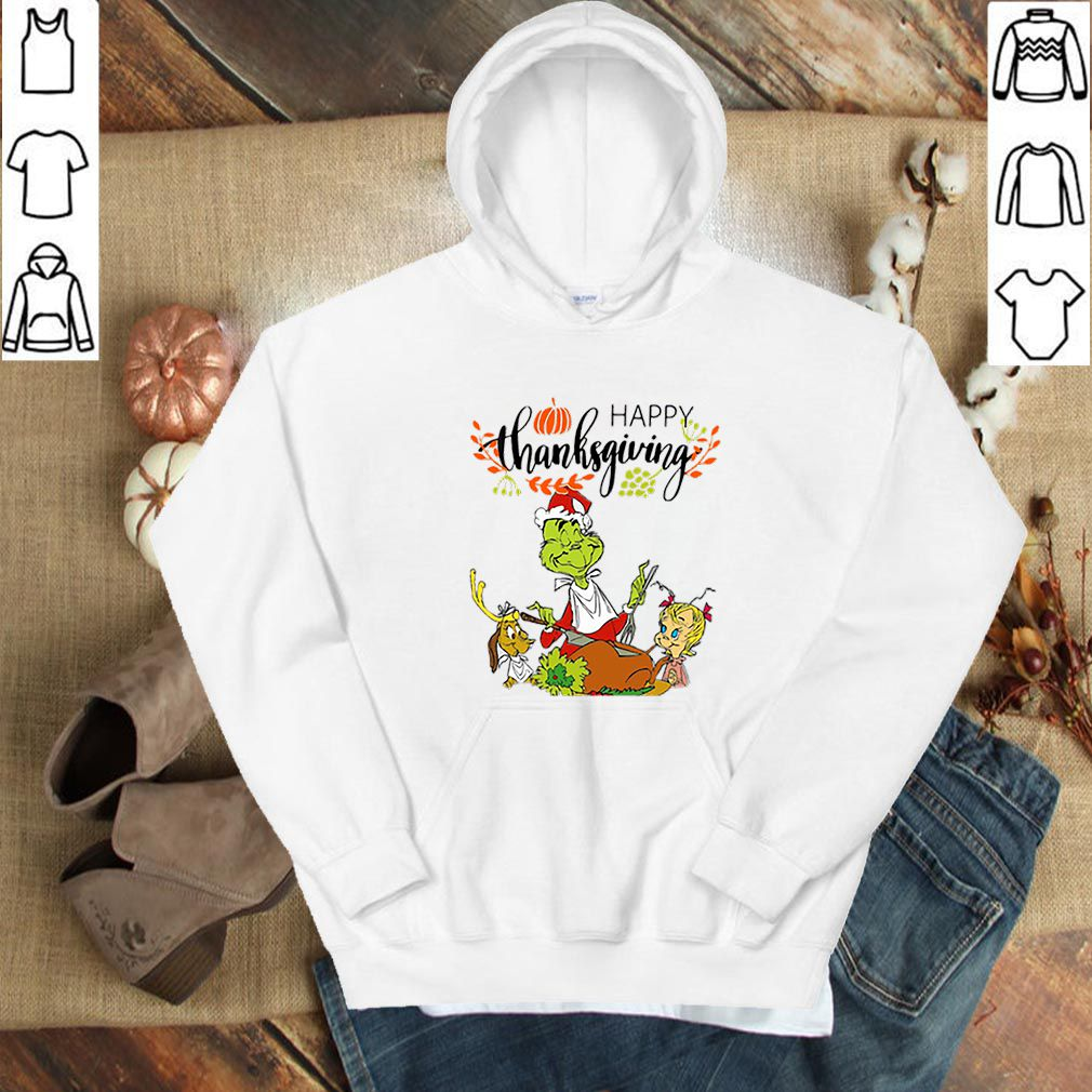 The Grinch Characters Happy Thanksgiving shirt