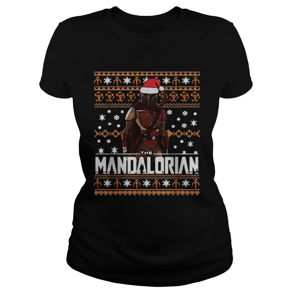 The Mandalorian ugly Christmas  Classic Ladies