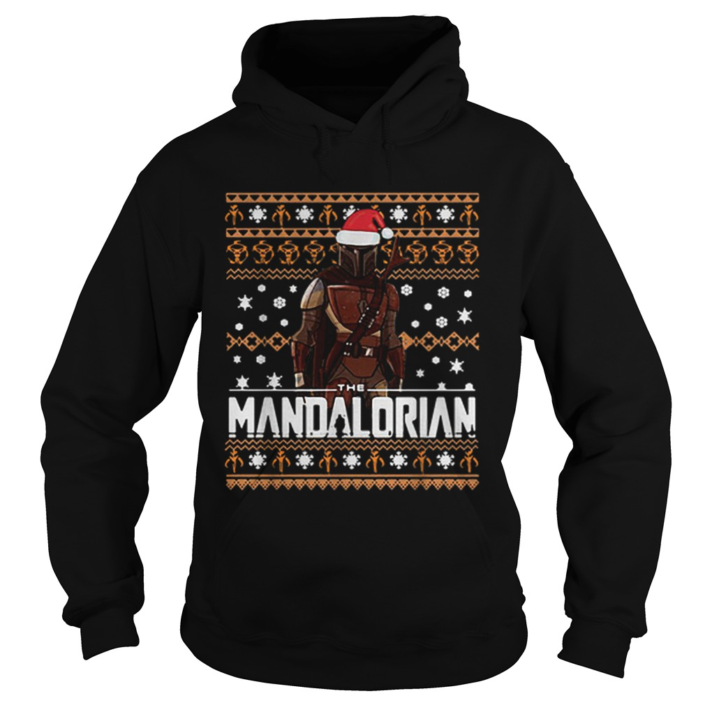 The Mandalorian ugly Christmas  Hoodie