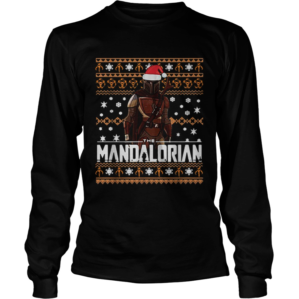 The Mandalorian ugly Christmas  LongSleeve