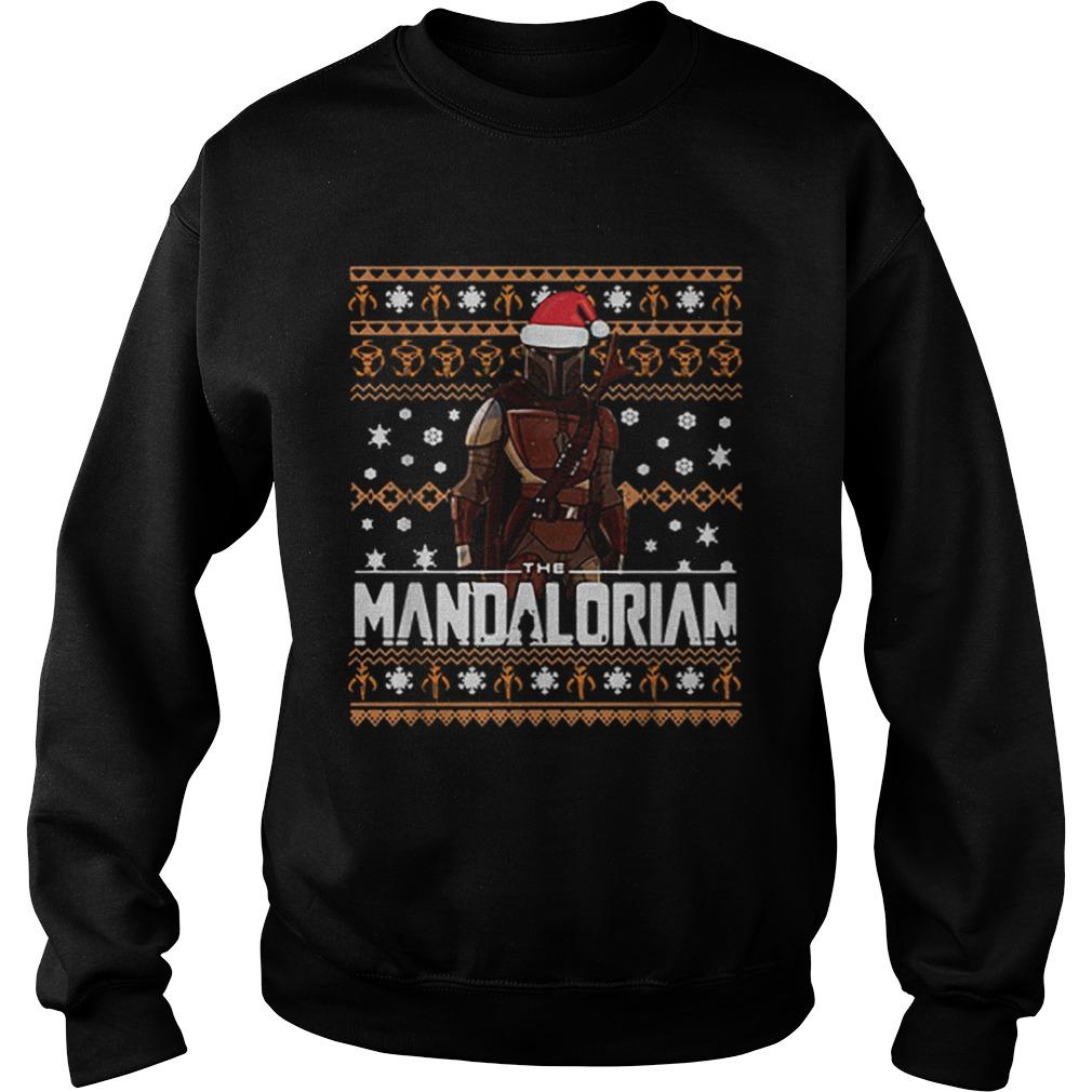 The Mandalorian ugly Christmas  Sweatshirt