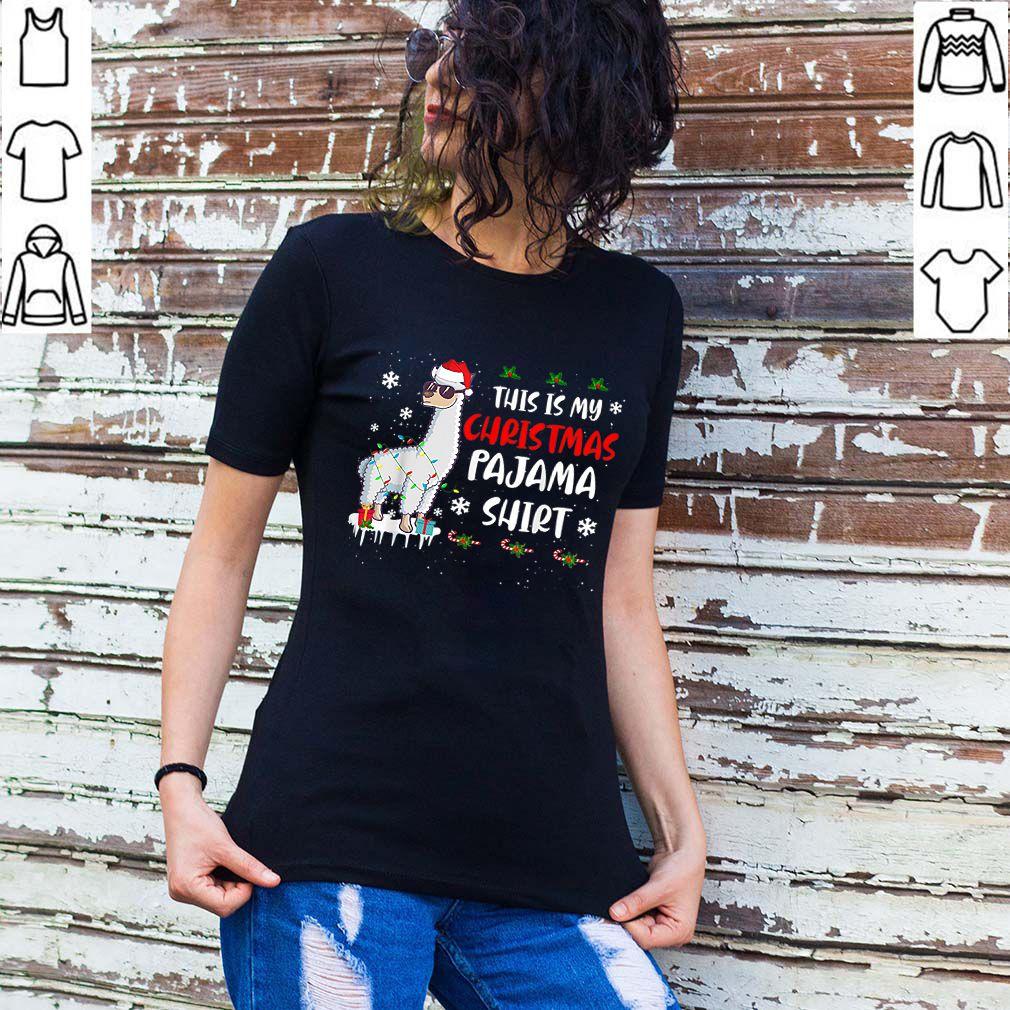 This Is My Christmas Pajama Shirt Llama Christmas shirt