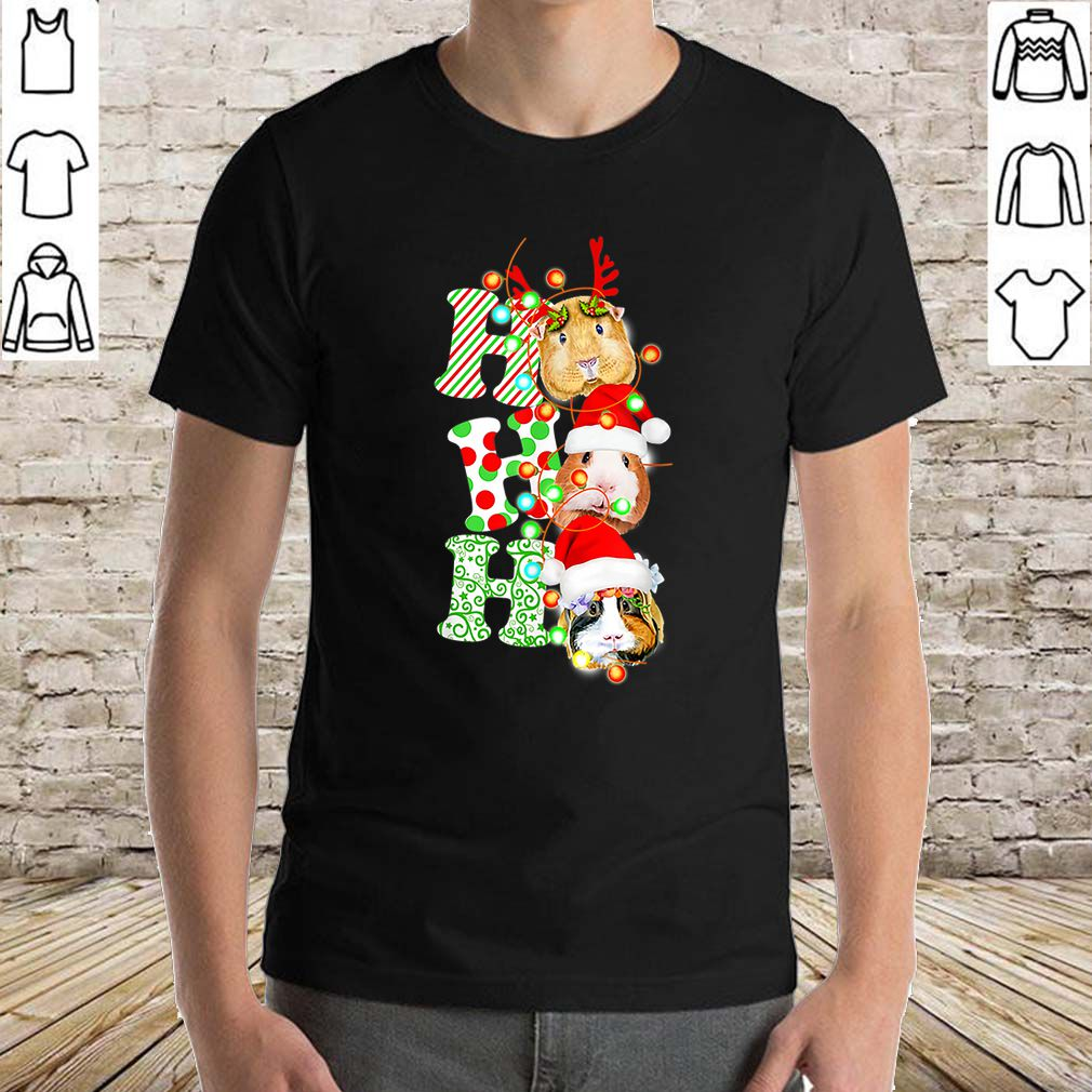 Top Guinea Pig Ho Ho Ho Christmas Gift sweater