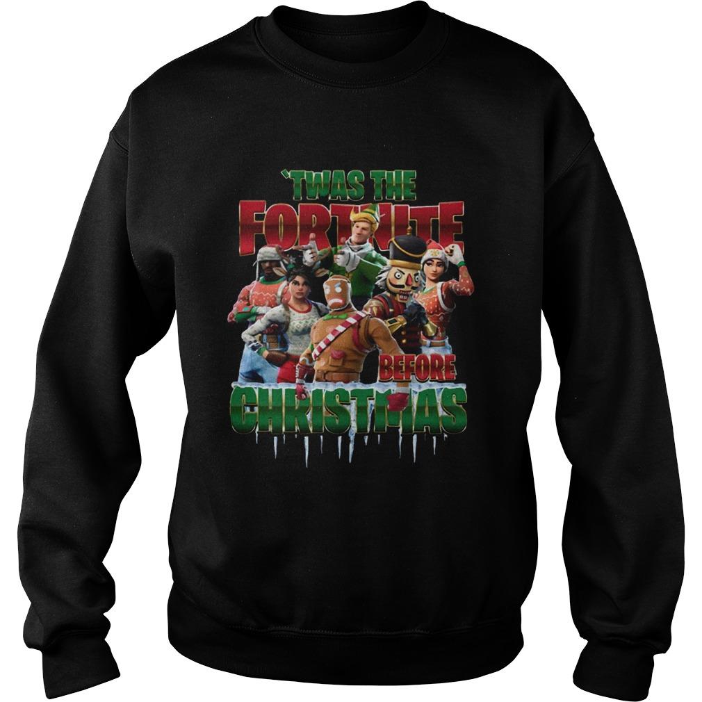 Twas the Fortnite Before Christmas  Sweatshirt