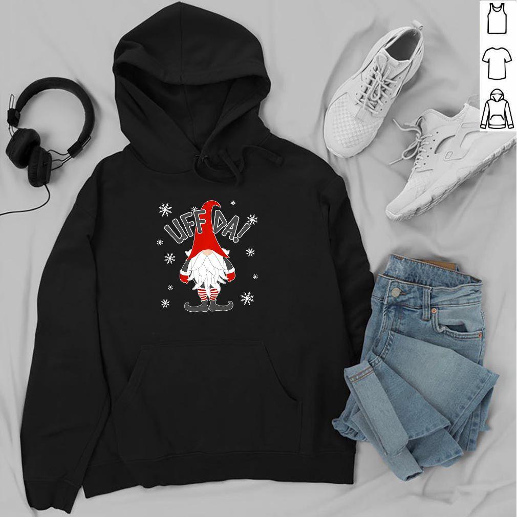 Uff Da Danish Gnome Nordic Christmas - T-shirt