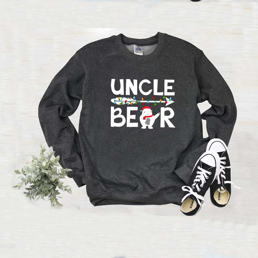 Uncle bear snowman christmas sweater