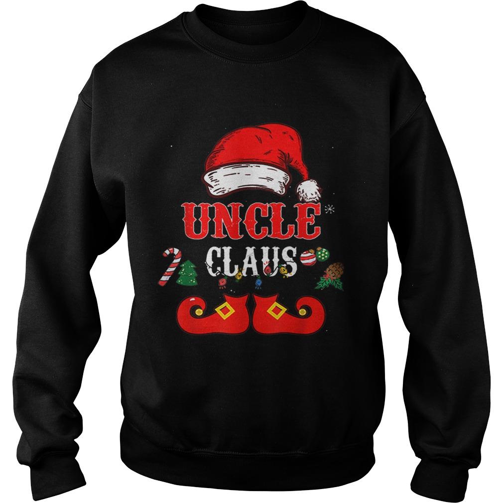 Uncle Claus Santa Hat Christmas  Sweatshirt