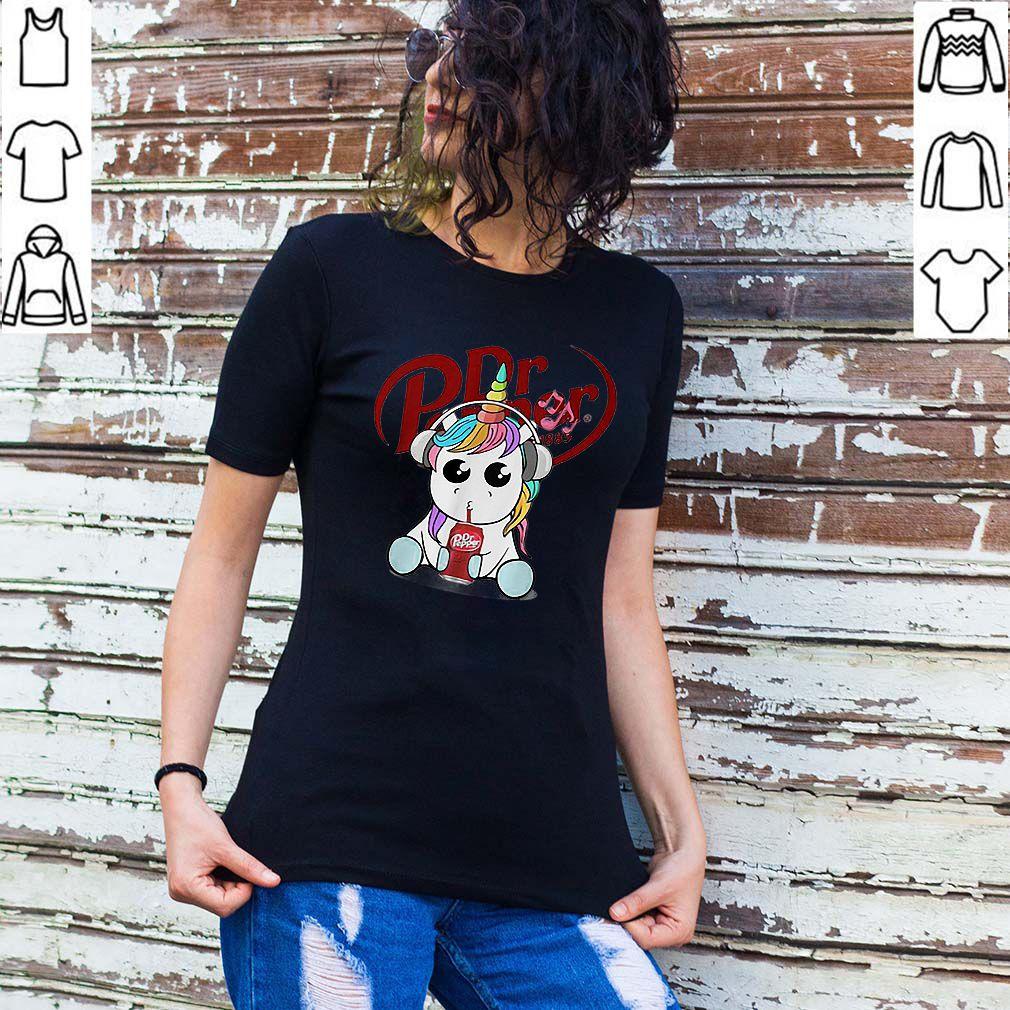 Unicorn drinking Dr Pepper shirt