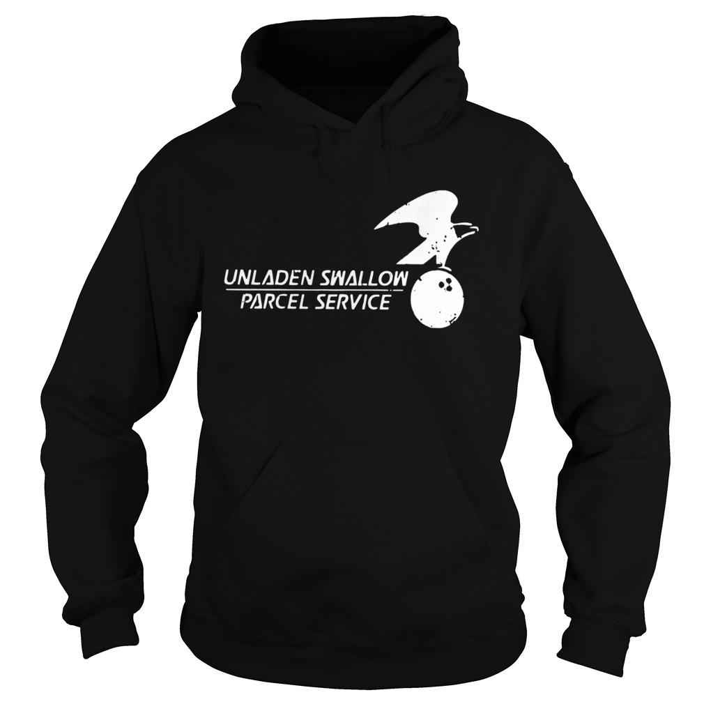 Unladen Swallow Parcel Service  Hoodie