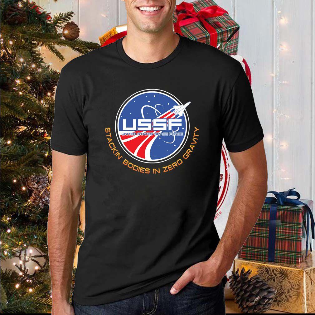 USSF stackin booies in zero gravity sweatshirt