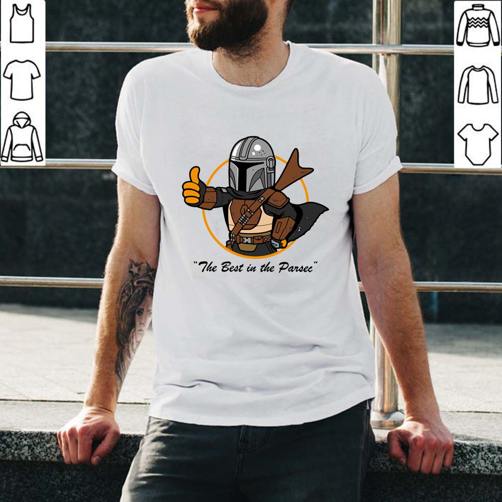 Vault Mando The Mandalorian T-Shirt