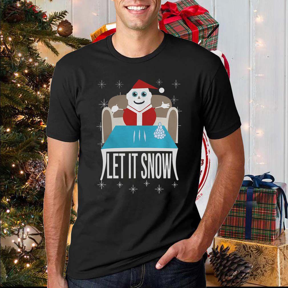 Walmart Cocaine Santa Let It Snow Shirt