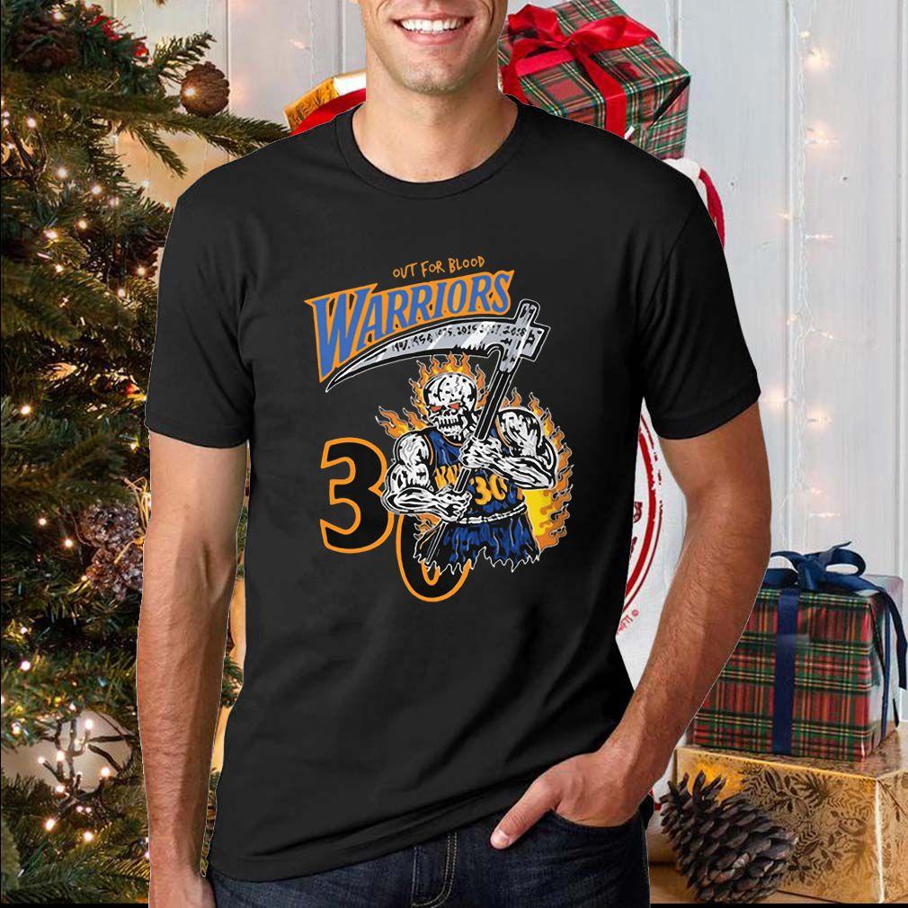 Warren Lotas Warriors Shirt – Out For Blood Warriors Shirts