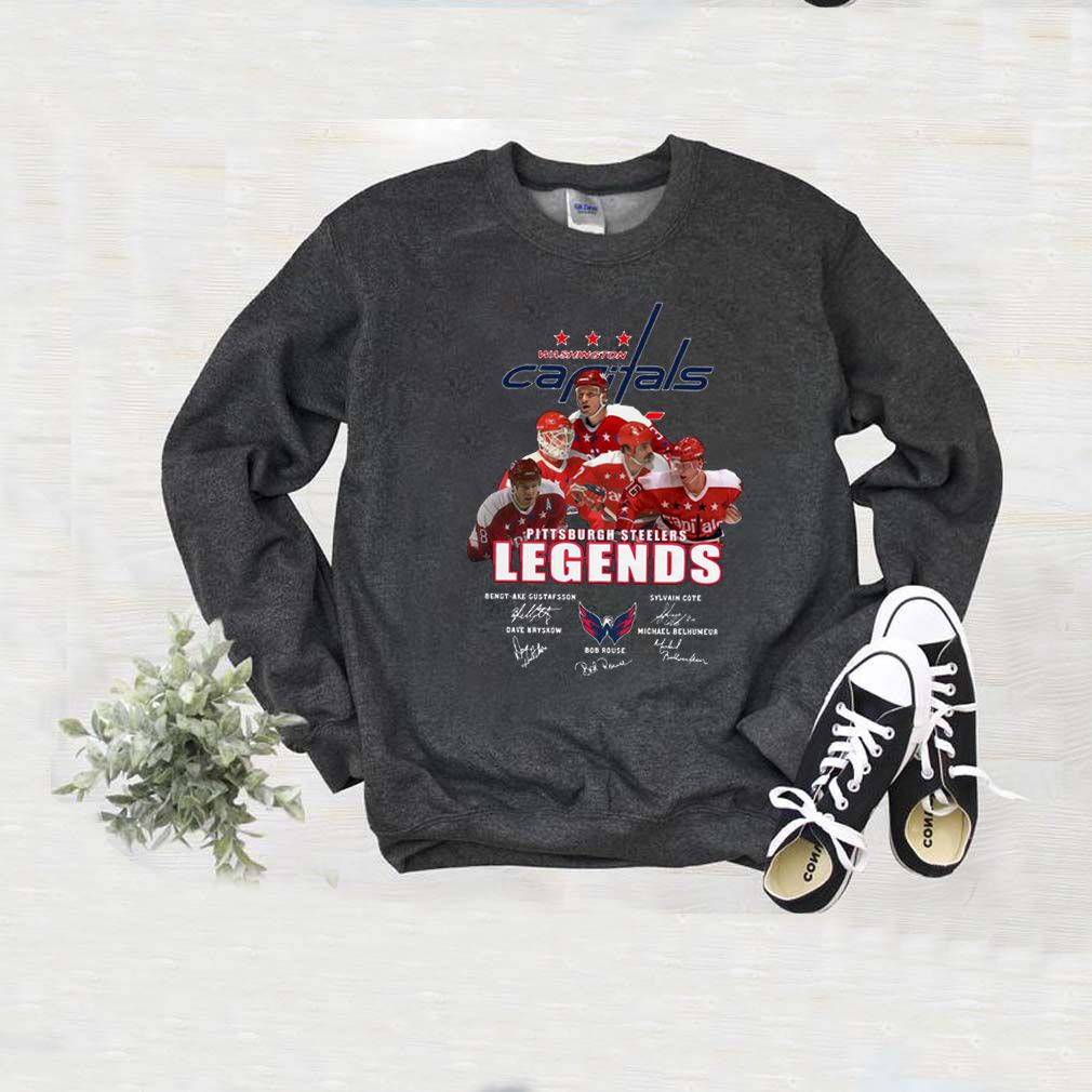 Washington Capitals Pittsburgh Steelers Legends Players sweater