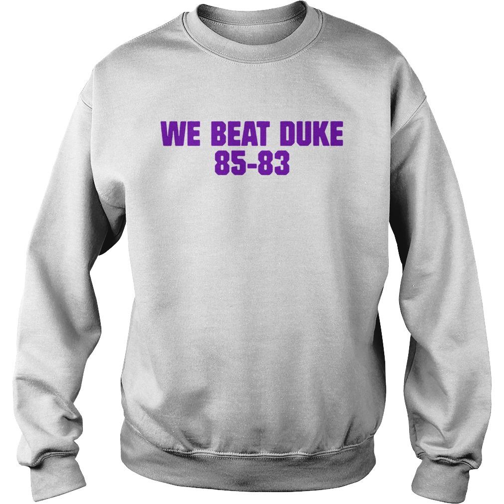 We Beat Duke 8583  Sweatshirt