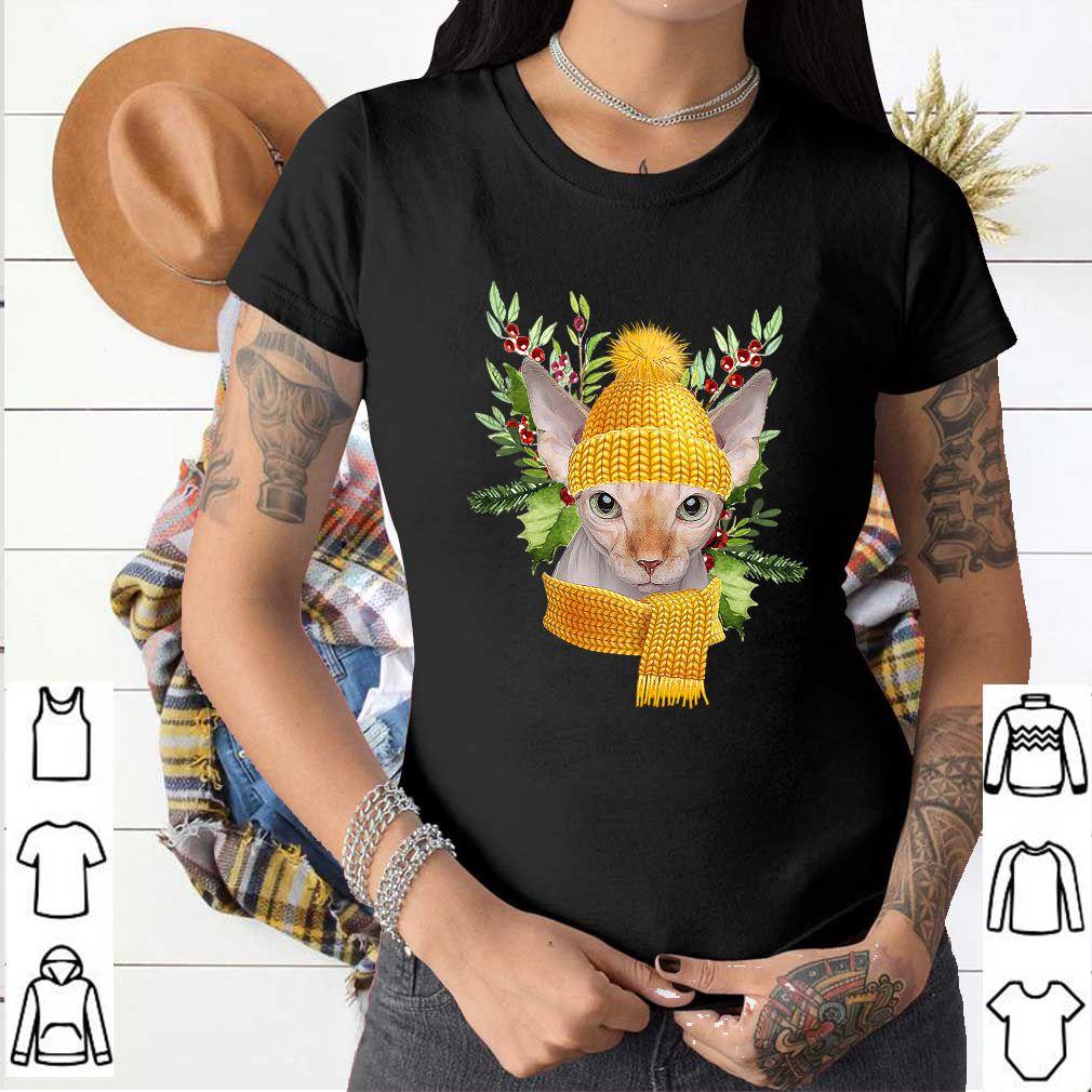 Winter Sphynx Cat T-Shirt