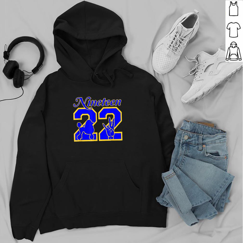 Cool Sweatshirt Hoodie Poodles are A Good Start Tee Shirt